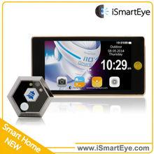 3.5 Inch Lcd Night Vision Digital Video Door Phone Peephole Viewer Doorbell Doorphone System With Door Bell & Video Recording