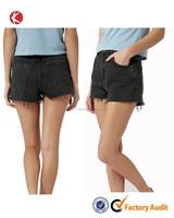 Women denim jeans short, acid washed denim shorts sexy shorts