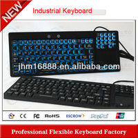 industrial wired keyboard with touch pad
