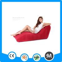 Casual and comfortable S-shaped inflatable air chair sofa