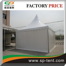 outdoor aluminum frame waterproof solar tent with pvc window for party/event in sale