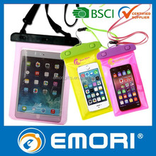 Waterproof Colorful Case Mobile Phone Camera underwater dry bag for iPhone