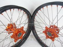 KTM CNC aluminum spoke wheels for motorcycle