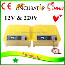 newest automatic small incubators egg parrots for sale with CE approved 48 eggs in stock