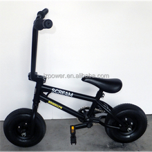 10inch black mini bike, child scooter,cheap kids bicycle