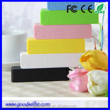 2015 new perfume mobile power bank 2600mah,portable charger for Samsung,iphone,ipad,smart phone,CE/Rohs/FCC