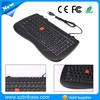 2015 hot selling english usb arabic colored keys computer keyboard