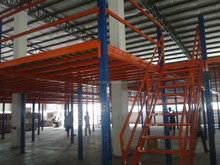 Warehouse Mezzanine Metal Floor,Customized Steel Mezzanine Rack,made of columns and beams