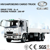 CAMC 6x4 Cargo Truck (Engine Power: 213KW, Payload: 13.5T) of 6x4 cargo truck