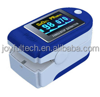 Finger measure pulse rate OLED oximeter