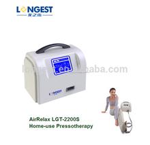 Dispositivo de compresión neumática para masajeador de aire de un ternero