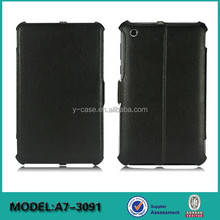 2015 New arrival 7 inch tablet leather flip case for Lenovo Tab 2 A7-30