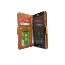 Wallet case hidden card cover for Samsung galaxy note 4