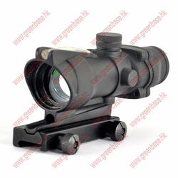 airsof gun green dot sight sniper air rifle scopes 1X32 black NGA0430