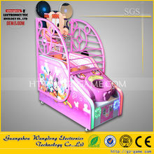 Mini shooting arcade game machine,Indoor arcade hoops cabinet basketball game for kids