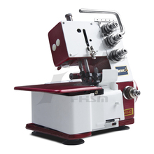 overlock sewing machine different colors for sewing different material