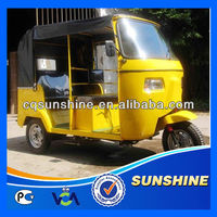 Powerful New Arrival rickshaw tricycle for passenger ce