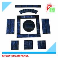 Best quality Epoxy resin 1V 2V 3V 4V 5V low price mini solar panel