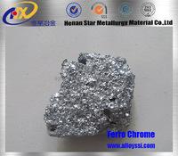 ferro silicon chrome / high and low carbon ferrochrome