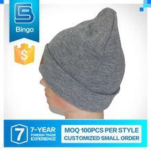 Excellent Quality Oem Design Small Order Custom Beanie Caps