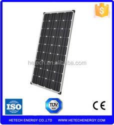 import solar panels from china Pv supplier Mono 140w photovoltaic solar panel
