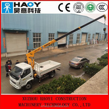 telescopic hydraulic crane with high quality and low price