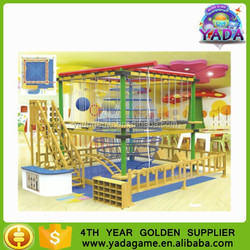 2015 new design high ropes course ,adventure ropes play equipment