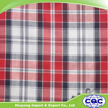 polyester cotton shirting fabric in yarn dyed process