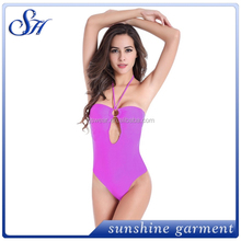 lady's one piece cover me swimsuit swimwear