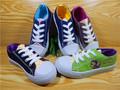 2015 scarpe di tela alla moda per i ragazzi