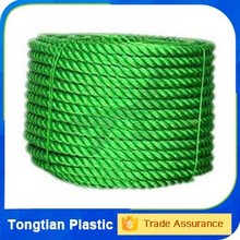 China manufacturer 3 strands 15mm pp strings for boats