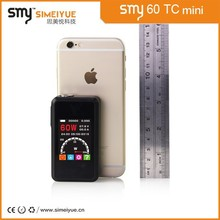 SMY60TC mini size wholesale dry herb vaporizer pen smoking pipe mechanical mod