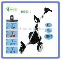 2015 Mini LCD electric golf trolley HME-2011
