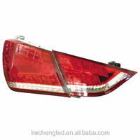 manufacture hot sale plug and play tail lamp accesorios fit for hyundai sonata