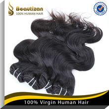 Dyeable and can be bleach high quality virgin hair weft body wave