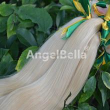 Permanent Hair Color Indian Human Hair Extensions Straight Virgin Hair