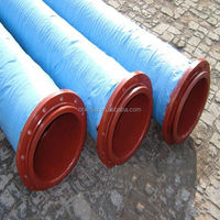 flexible rubber suction and discharge water hose