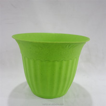 2015 bright colorful plastic flower pots wholesale, home decor garden