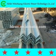 11KV 33KV Energía Eléctrica Cross Arm / Angulo Acero Para Pole Line Hardware