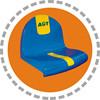 Factory Price Plastic Chair For Stadium Northern Design Stadium Seats For Stadium Plastic Seats