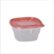 Good selling plastic food storage container 1200ml