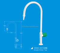 One way laboratory water Tap/Faucet with PP handle