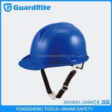 GuardRite brand security durable construction plastic head protection safety helmet