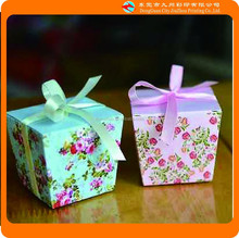 Romantic Sweet pandora jewelry gift box with Ribbon Bowknot