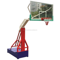 Movable basketball stand for outdoor