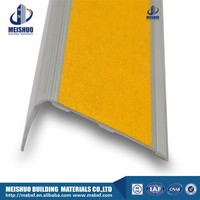 Self adhesive carborundum tape cheap stair nosing For Concrete Steps