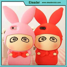 For iphone 6 silicone,cute rabbit style