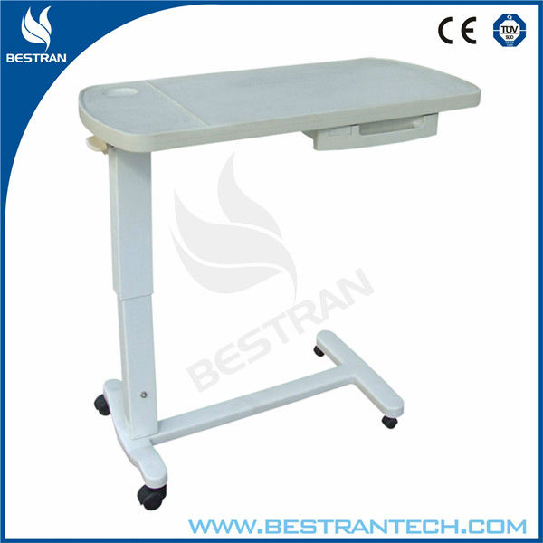 Bt At009 Adjustable Medical Table Hospital Bed Tray Table With Drawer Buy Hospital Bed Table