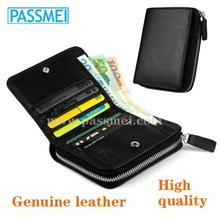 Good quality genuine leather wallet, men's wallet