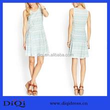 Original design fashion women hot sales sleeveless fashion OEM dress ladies girl's dress